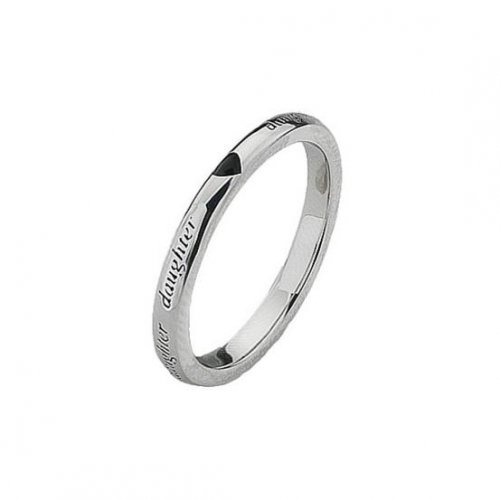 Virtue - Sterling Silver Daughter Ring