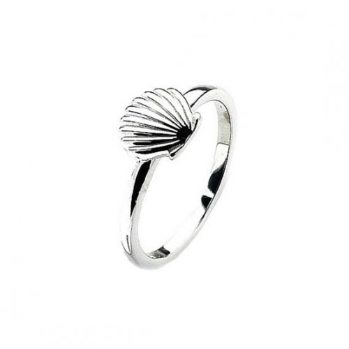 Virtue - Sterling Silver Seashell Ring