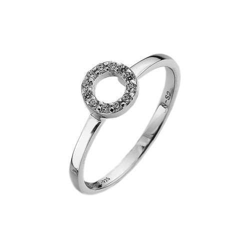 Virtue - Cubic Zirconia Set, Sterling Silver Ring
