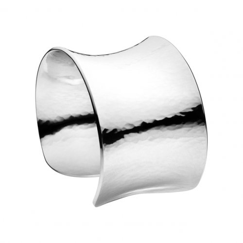 Georg Jensen - Archive, Silver Cuff Bangle, Size Medium