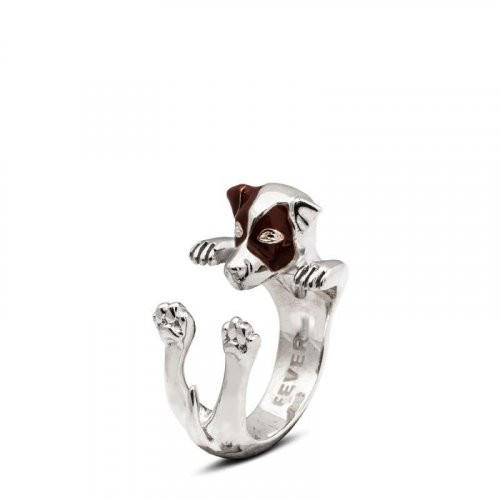 Dog Fever - Jack Russell- Dog Ring in Sterling Silver