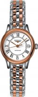 Longines - Flagship, Stainless Steel - Rose Gold Plated - Automatic Watch, Size 26mm