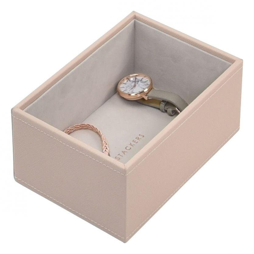 055fc32a6 Stackers - Blush, Mini Watch/Accessories Layer Jewellery Box | Guest and  Philips