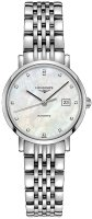 Longines - Elegant, Dia 0.029 MOP Set, Stainless Steel - Automatic Watch, Size 29mm