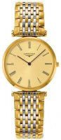 Longines - Grand Classique, Yellow Gold Plated - Stainless Steel - Crystal Glass Quartz Watch, Size 29mm
