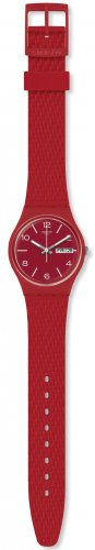 Swatch - Lazered, Plastic/Silicone Silicone Strap Watch