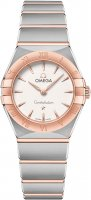 Omega - Constellation, Rose Gold Plated - Stainless Steel/Tungsten - Quartz, Size 25mm