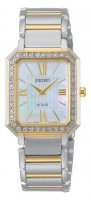Seiko - Swarovski Crystals Set, Stainless Steel - Yellow Gold Plated - Bracelet Strap Watch