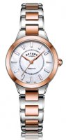 Rotary - MOP Set, Stainless Steel/Tungsten - Rose Gold Plated - Quartz Watch